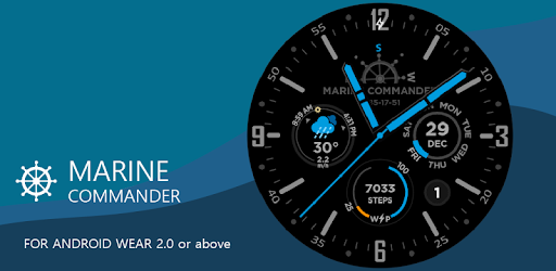 Marine Commander Watch Face for WearOS pc screenshot