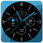 Marine Commander Watch Face for WearOS for pc icon
