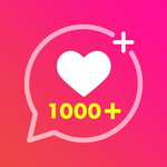 Get Super Likes Tags & Real Followers Captions icon