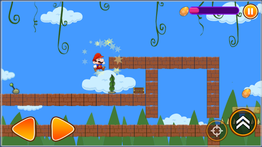 Classic Boy Adventure - Mushroom Bros Adventure APK screenshot 1