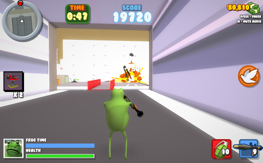 The Frog Game Amazing Simulator APK screenshot 1