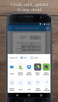 iScanner: Free Portable PDF Scanner App APK screenshot 1