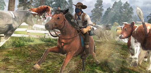 Cowboy Horse - Farm Racing pc screenshot