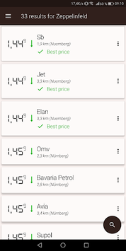 Gas Prices (Germany only) APK screenshot 1