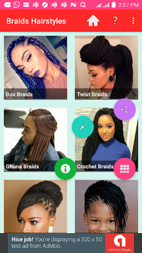 BRAID HAIRSTYLES 2018 APK screenshot 1