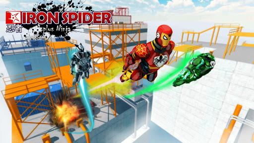 The Amazing Iron Spider APK screenshot 1