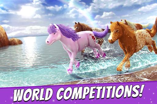 My Pony Horse Riding Free Game APK screenshot 1