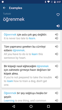 Turkish English Dictionary & Translator Free APK screenshot 1
