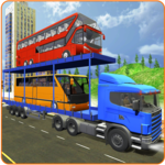 Bus Transporter Truck 2017 - City Bus Simulator icon