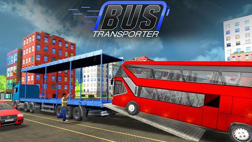 Bus Transporter Truck 2017 - City Bus Simulator APK screenshot 1