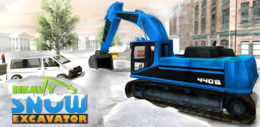 Heavy Snow Excavator Simulator pc screenshot