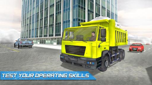 Heavy Snow Excavator Simulator APK screenshot 1
