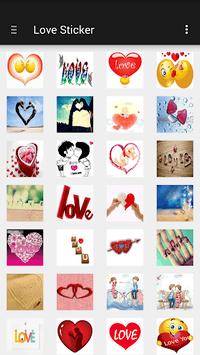 Love Sticker APK screenshot 1