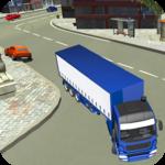 Cargo Truck Driving Games: Subway Runner Mr Parker icon