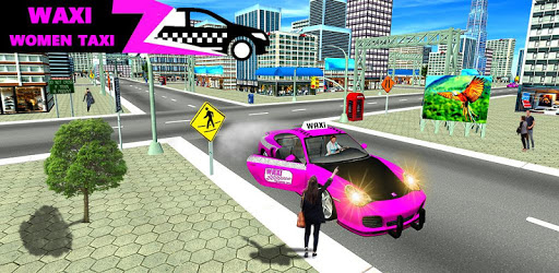 New York Taxi Duty Driver: Pink Taxi Games 2018 pc screenshot