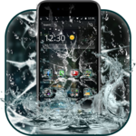 Rain Broken Glass Theme icon