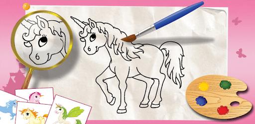 Unicorn coloring book for kids pc screenshot