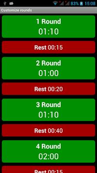 Boxing Interval Timer APK screenshot 1