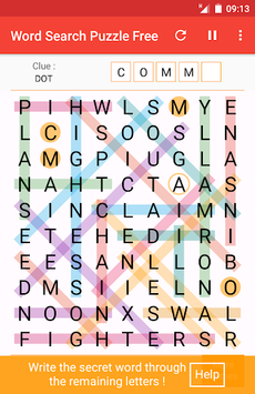 Word Search APK screenshot 1