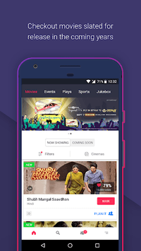 BookMyShow - Movies, Events & Sports Match Tickets APK screenshot 1