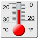 Thermometer for pc icon