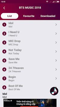 BTS Music 2018 APK screenshot 1