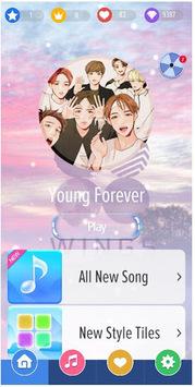 Magic Piano Tiles BTS - New Songs 2018 APK screenshot 1