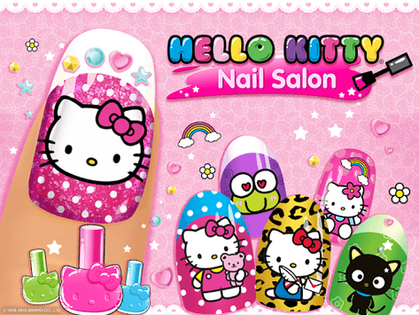 Hello Kitty Nail Salon APK screenshot 1