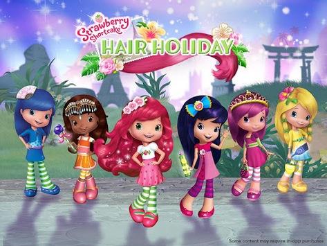Strawberry Shortcake Holiday Hair APK screenshot 1