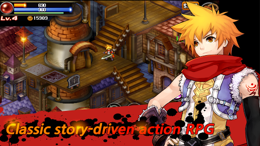 Mystic Guardian : Old School Action RPG APK screenshot 1