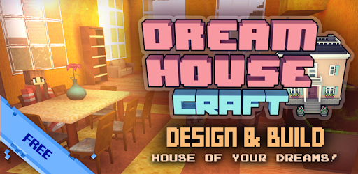 Dream House Craft: Design & Block Building Games For