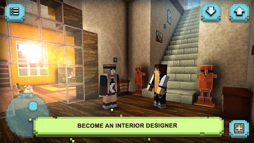 Dream House Craft: Design & Block Building Games APK screenshot 1