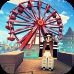 Theme Park Craft 2: Build & Ride Roller Coaster icon