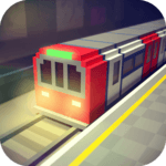 Subway Craft: Build Big City & Ride Block Train 3D icon