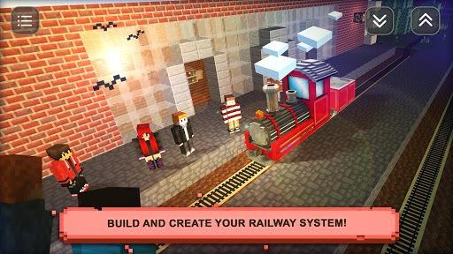 Train Craft Sim: Build & Drive pc screenshot 2