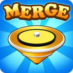 Merge Tops : Spinner Simulation icon