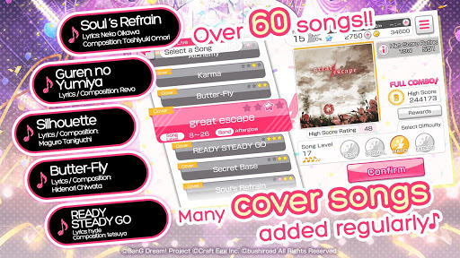 BanG Dream! Girls Band Party! APK screenshot 1