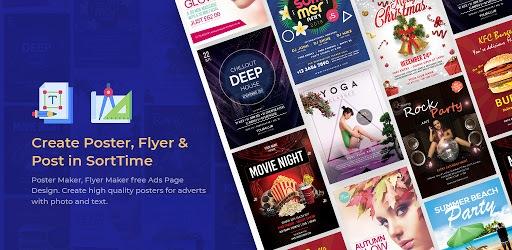 Poster Maker - Flyer Maker & Graphic Design pc screenshot
