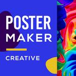 Poster Maker - Flyer Maker & Graphic Design for pc icon
