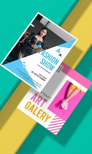 Poster Maker - Flyer Maker & Graphic Design APK screenshot 1