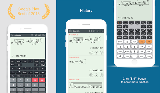 HiEdu Scientific Calculator : Fx-570vn Plus APK screenshot 1