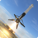 First Stage Landing Simulator icon