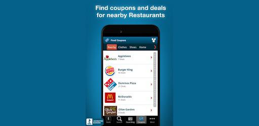 Fast Food Specials & Coupons pc screenshot