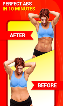 Six Pack Abs Workout 30 Day Fitness: HIIT Workouts APK screenshot 1
