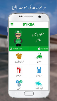 Bykea - Rides, Deliveries, Food & Payments APK screenshot 1