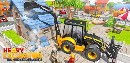 Heavy Excavator Sim 2018 pc screenshot