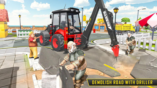 Heavy Excavator Sim 2018 APK screenshot 1