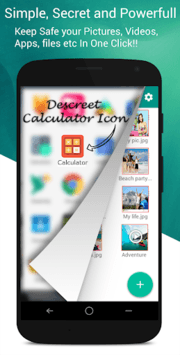 Calculator Vault- Gallery Lock APK screenshot 1