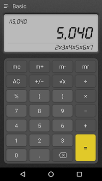 Calculator Plus APK screenshot 1
