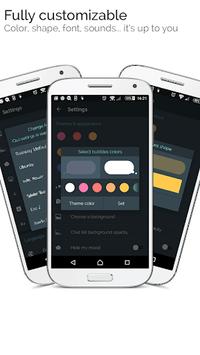 Mood Messenger - SMS & MMS APK screenshot 1
